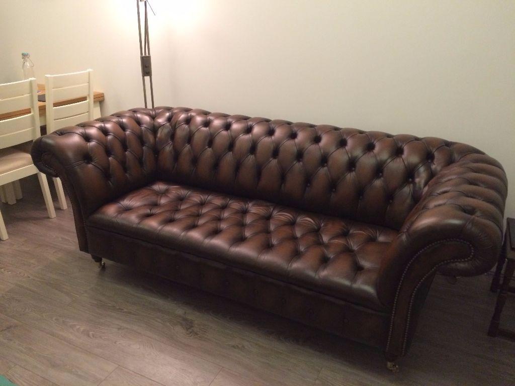 475b7a9edd55 original chesterfield loveseat rm-220 3CVAXYZ1. original chesterfield 3  seater sofa antique tan leather   cliveden   handmade GETHYU4Y