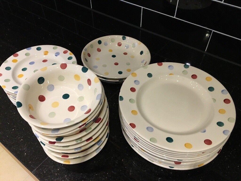 Emma Bridgewater Polka Dot plates and bowls & Emma Bridgewater Polka Dot plates and bowls | in Somerset | Gumtree