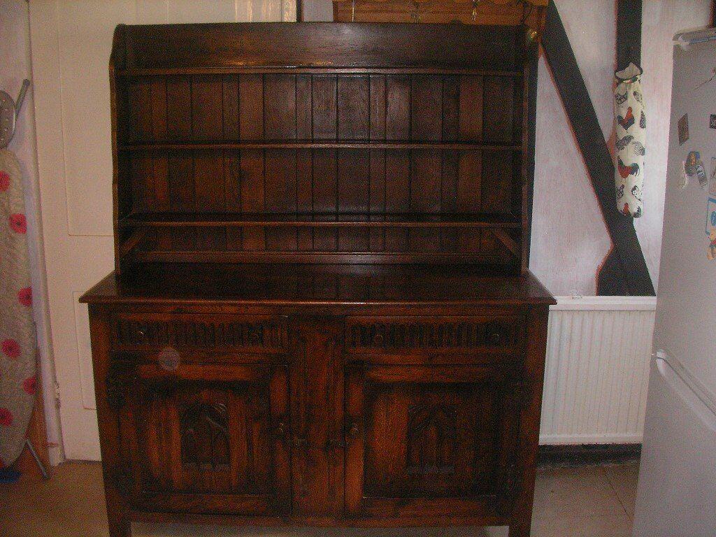 Vintage Oak Dresser Made By Webber Furniture