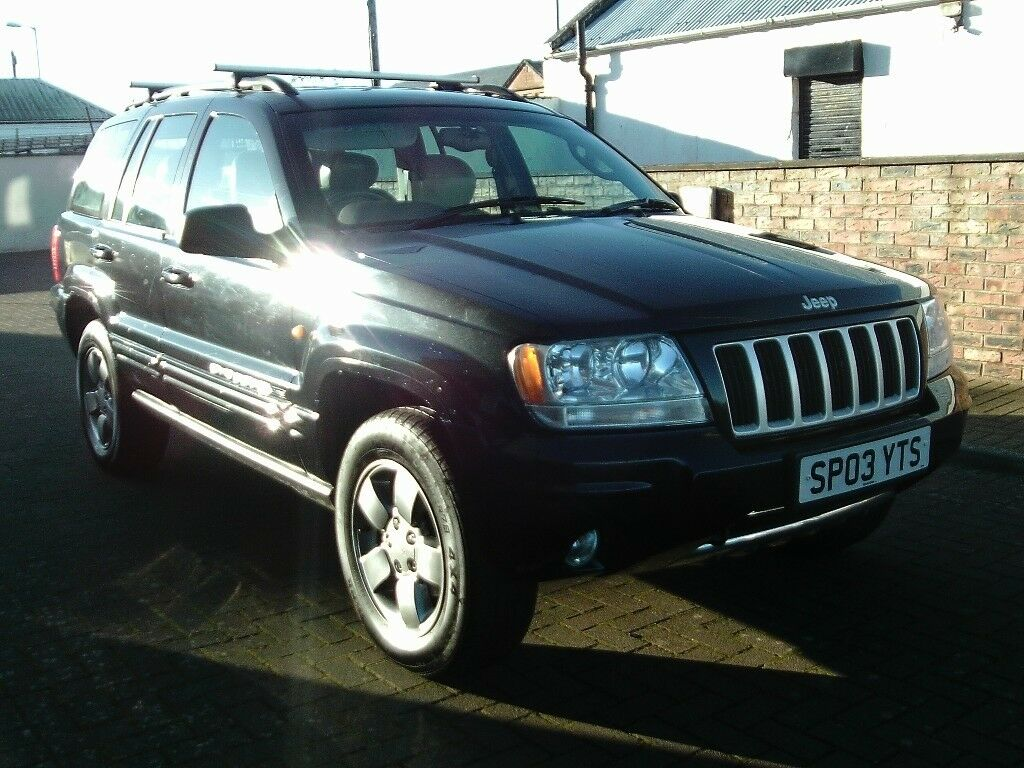 2003 03 JEEP GRAND CHEROKEE 2.7 CRD AUTOMATIC LIMITED ** 4X4 AUTOMATIC  DIESEL **