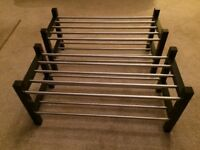 ikea tjusig shoe rack 10