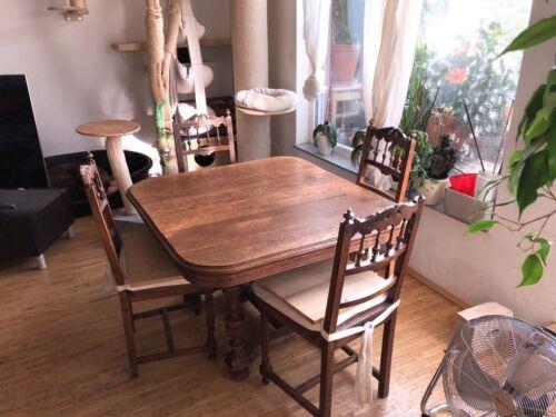4 Stühle, Gründerzeit Wiener Geflecht