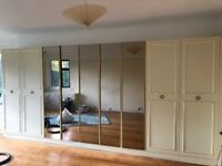 luxury fitted bedroom wardrobes and drawer units available for immediate collection j9 m25