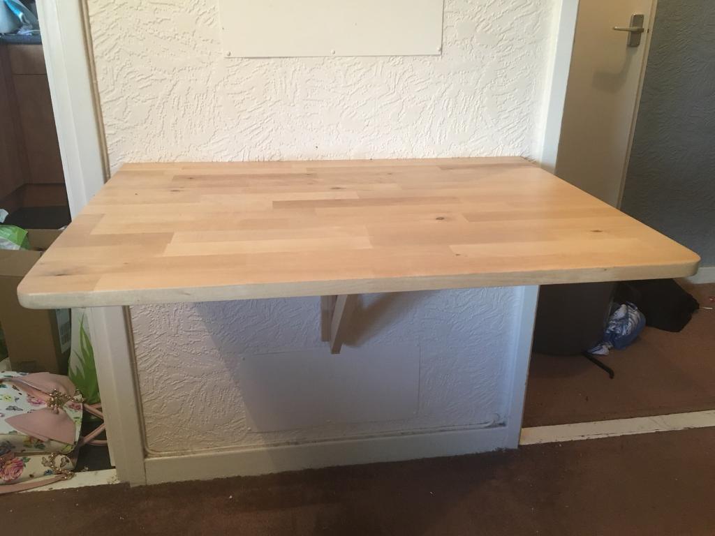 Ikea Norbo Wall Mounted Table