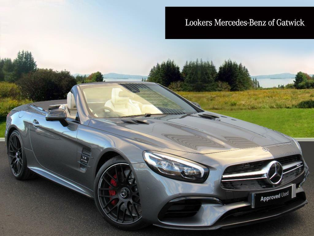 Superb Mercedes Benz SL AMG SL 63 (grey) 2017 12 29