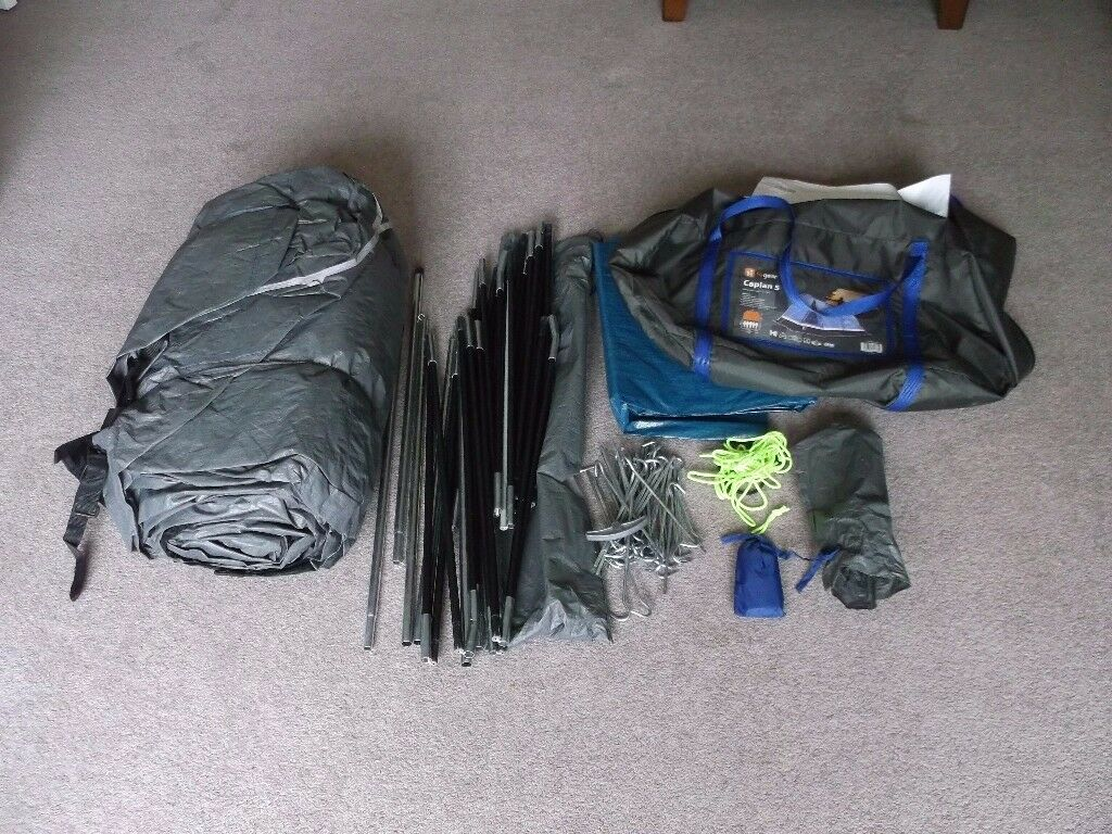 Hi Gear Caplan 5 Tent and all accessories in excellent condition & Hi Gear Caplan 5 Tent and all accessories in excellent condition ...