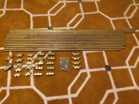 Solid Brass Stair Rods