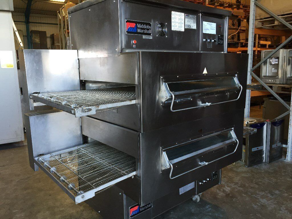 middleby marshall ps360 32 inch gas conveyor pizza oven