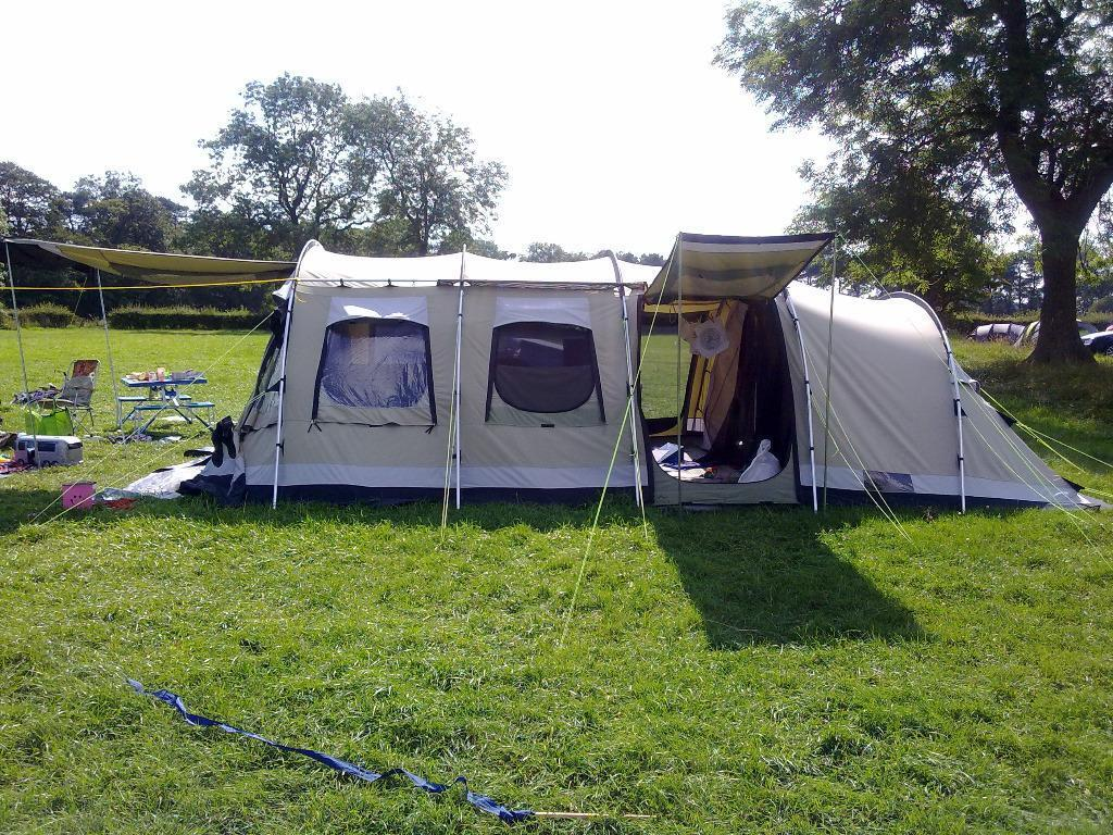 Outwell Norfolk Lake 8 berth polycotton tent & Outwell Norfolk Lake 8 berth polycotton tent | in Retford ...