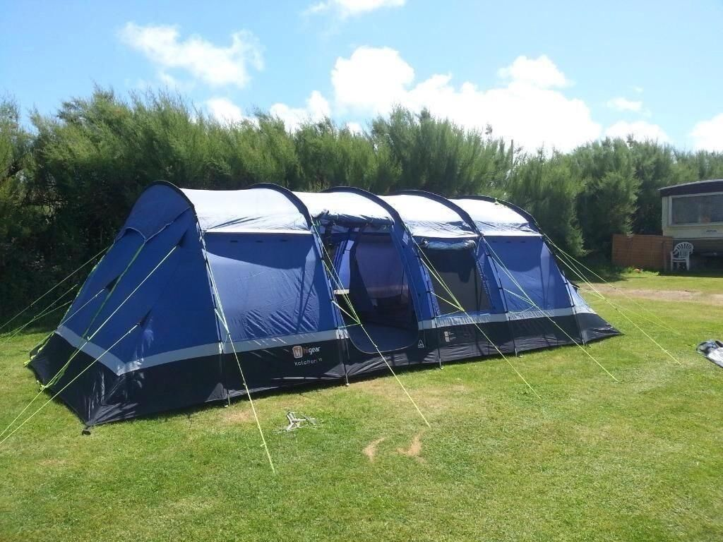 Kalahari 10 Tent u0026 Canopy with Loads of C&ing Equipment & Kalahari 10 Tent u0026 Canopy with Loads of Camping Equipment | in ...