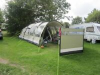 Outwell Trout Lake Tent Polycotton With 2 Extensions & Used Tents for sale in Sheffield South Yorkshire - Gumtree