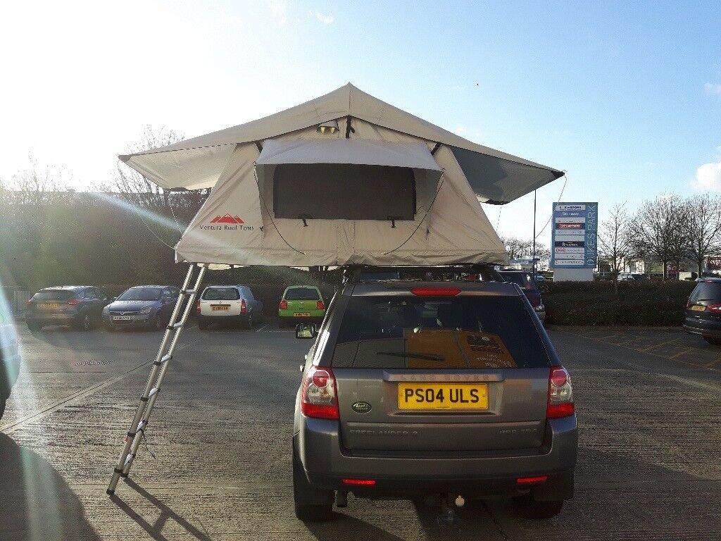 Ventura Deluxe 1.4 Roof Top Tent 3 Person C&ing Expedition Overland 4x4 VW Van Land Rover & Ventura Deluxe 1.4 Roof Top Tent 3 Person Camping Expedition ...