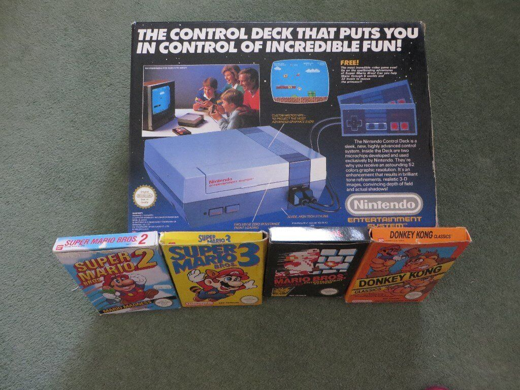 Large Quantity Of Nintendo Consoles And Games.
