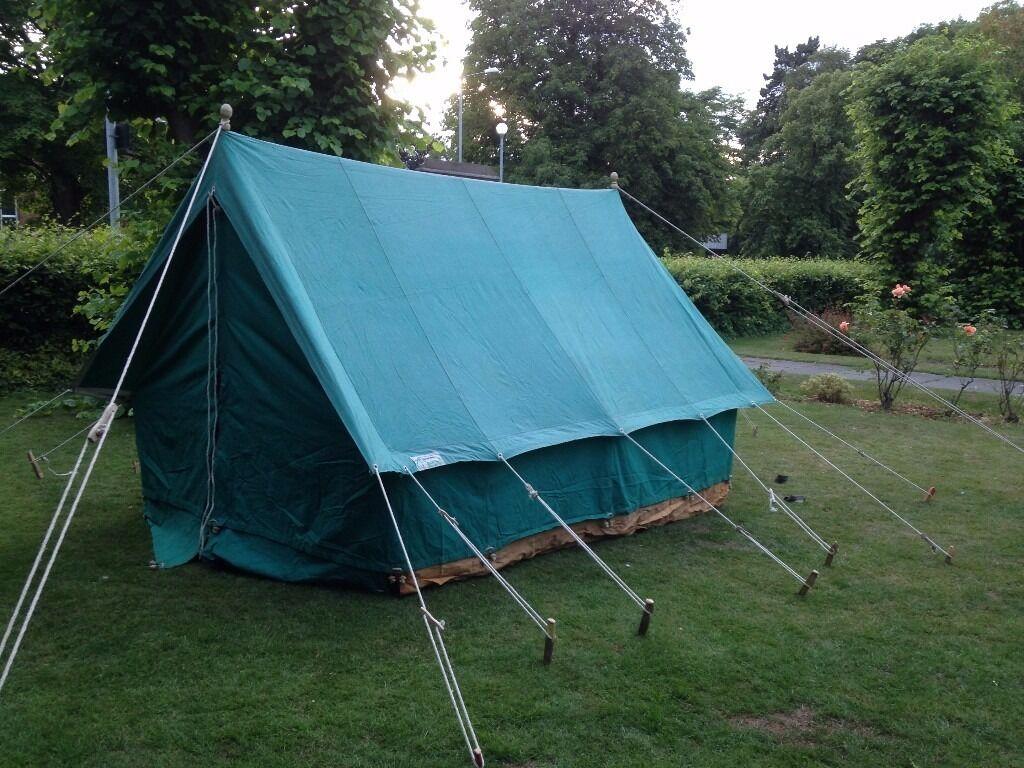 Canvas ridge tents - 6 man - 2 available & Canvas ridge tents - 6 man - 2 available | in Burwell ...