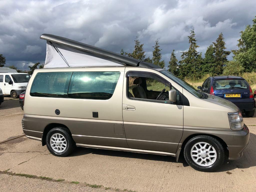 Automatic Nissan Camper With Aircon And Cruise Control! 2 And 4 Wheel Drive!