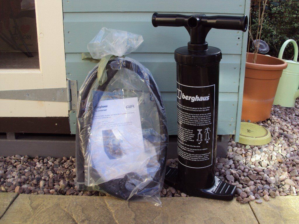AIR PUMP FOR BERGHAUS AIR TENT & AIR PUMP FOR BERGHAUS AIR TENT | in Branston Staffordshire | Gumtree