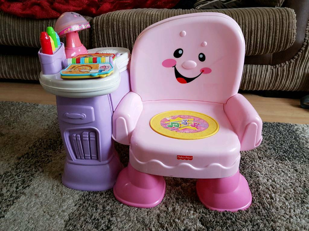 Fisher price laugh and learn musical chair & Fisher price laugh and learn musical chair | in Longwell Green Bristol ...