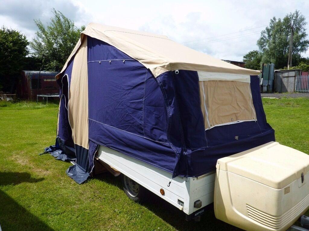 Trigano arpege 2 berth trailer tent & Trigano arpege 2 berth trailer tent | in Crook County Durham ...