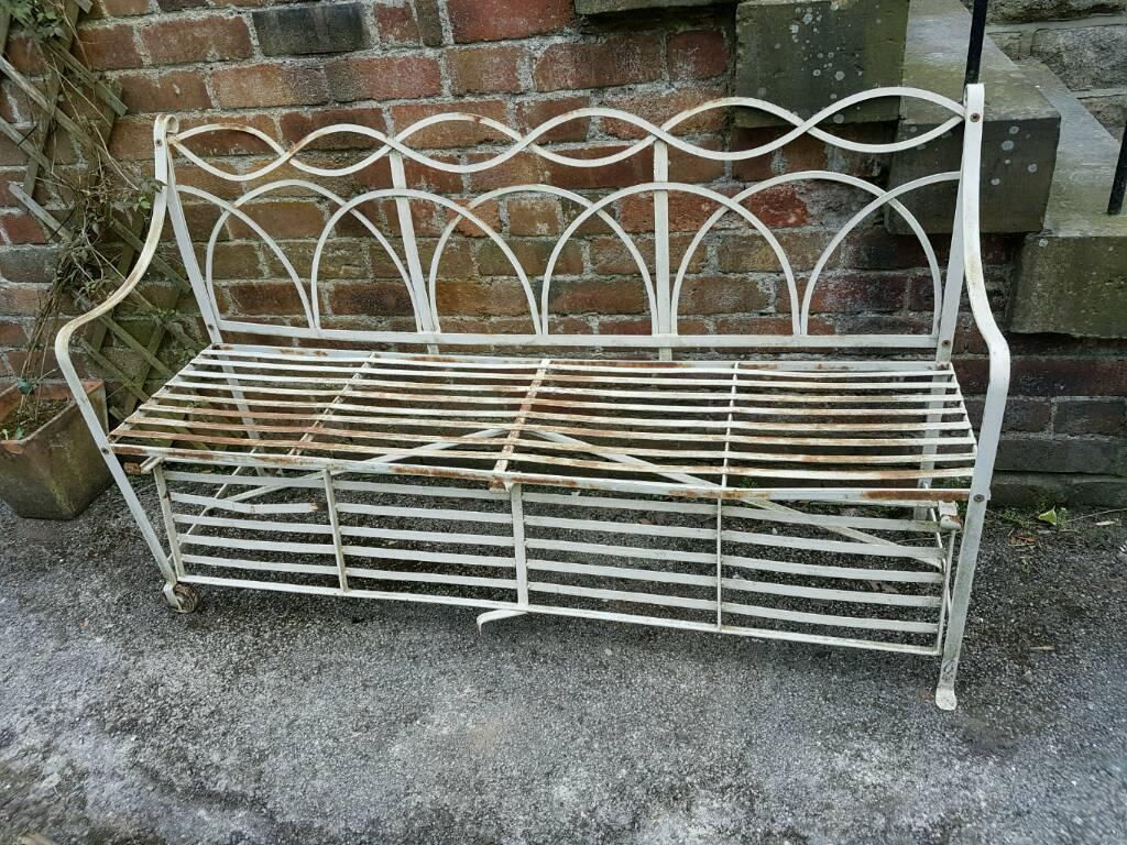 Ornate Garden Bench