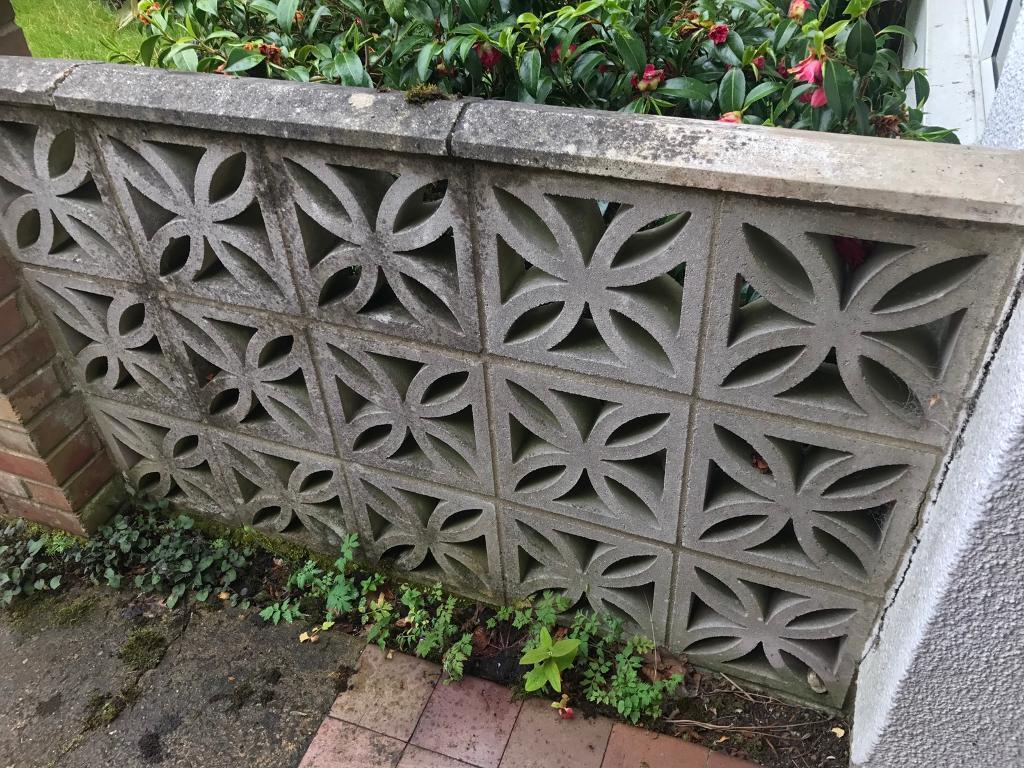 Decorative Garden Wall Bricks Blocks 15 Reclaimed Garden Decoration