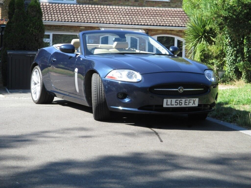 2007 Jaguar XK Convertible, Very Low Mileage, £11,995 Ono