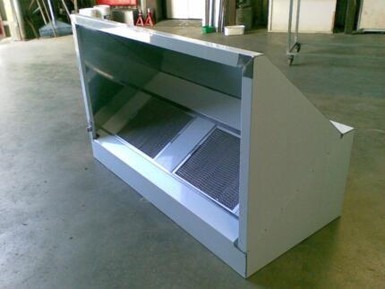 Stainless Steel Commercial Exhaust Canopy / Range Hood & Stove caravan sink and range hood | Miscellaneous Goods | Gumtree ...