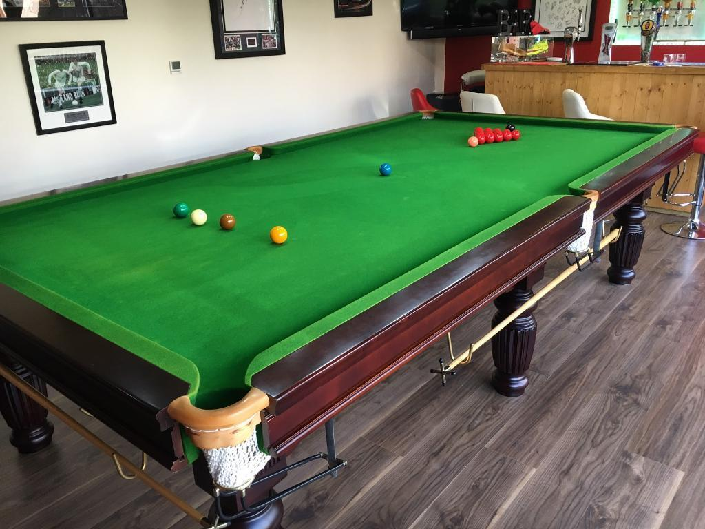 Beau Snooker Table 10ft X 5ft C/w Accessories