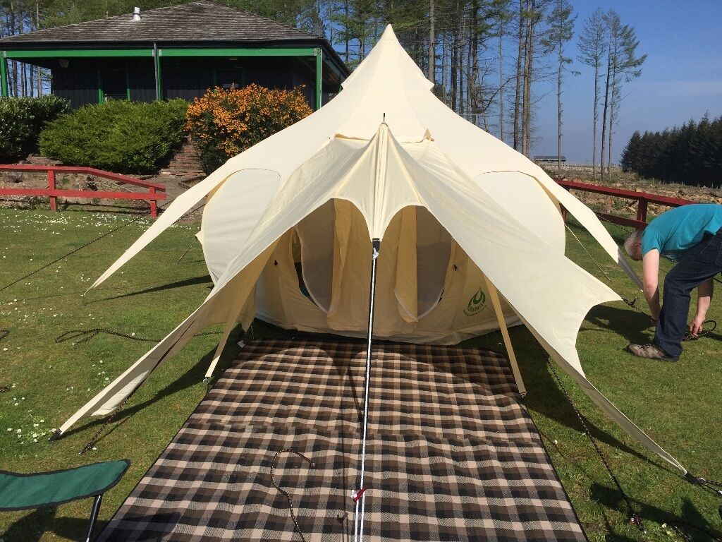 2016 Lotus Belle BUD tent. Perfect gl&ing tent. Used once. & 2016 Lotus Belle BUD tent. Perfect glamping tent. Used once. | in ...