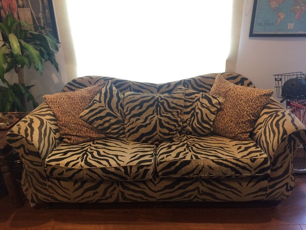 Zebra Print Sofa Zebra Print Couches And Ivory Sofa Ideas