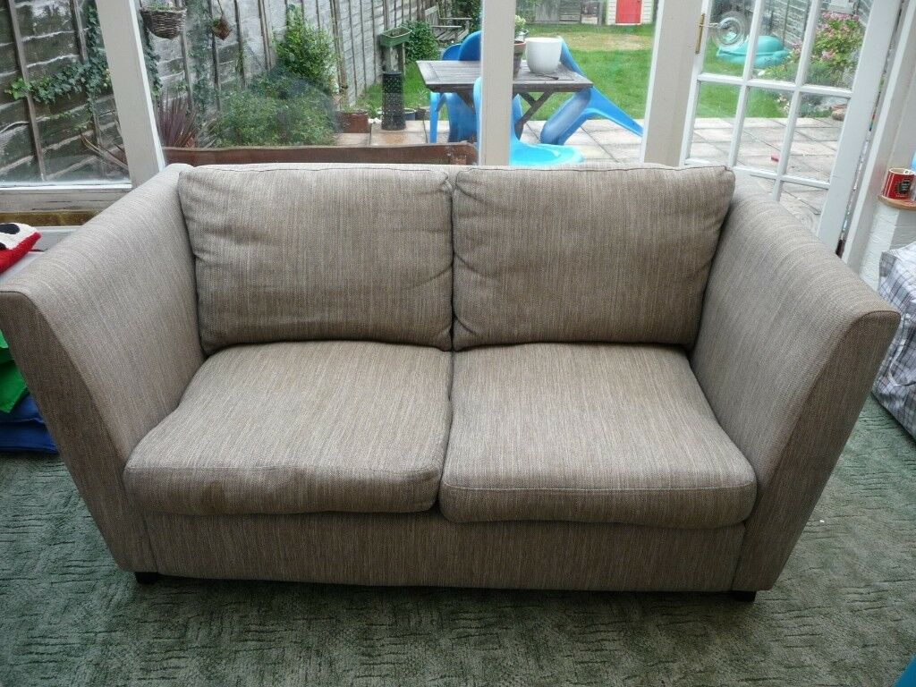 2 Seater High Arm Sofa From Next