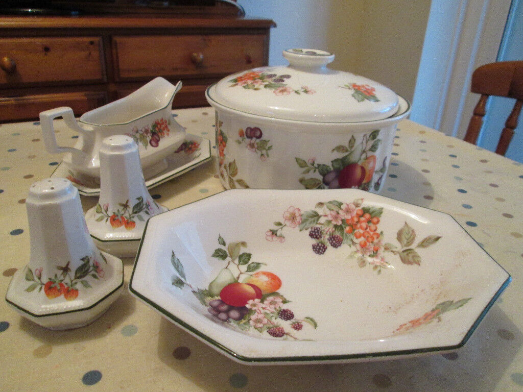 Johnson Brothers - Fresh Fruit - Dinner Service/Tea set/dishes - bundle 55 & Johnson Brothers - Fresh Fruit - Dinner Service/Tea set/dishes ...