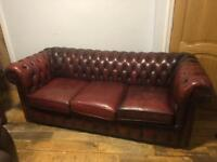 Chesterfield Sofas (3 Seater U0026 1seater)