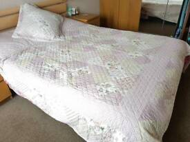Bed Cover With Pillow   Brand New