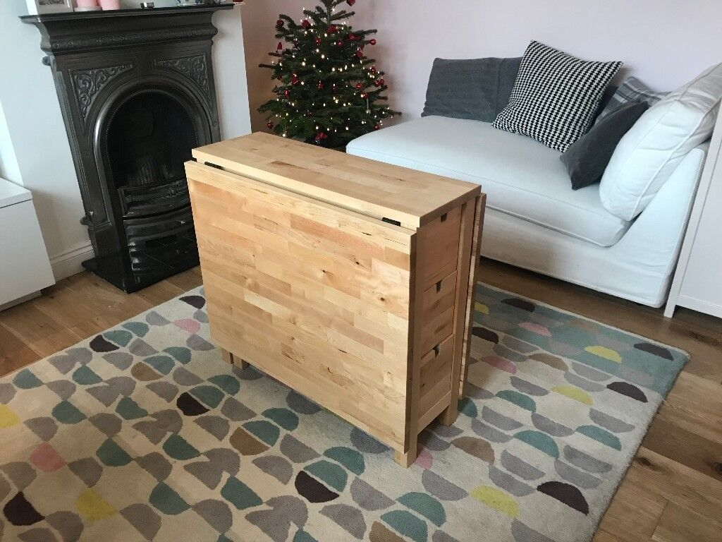IKEA Norden Gateleg Table Birch