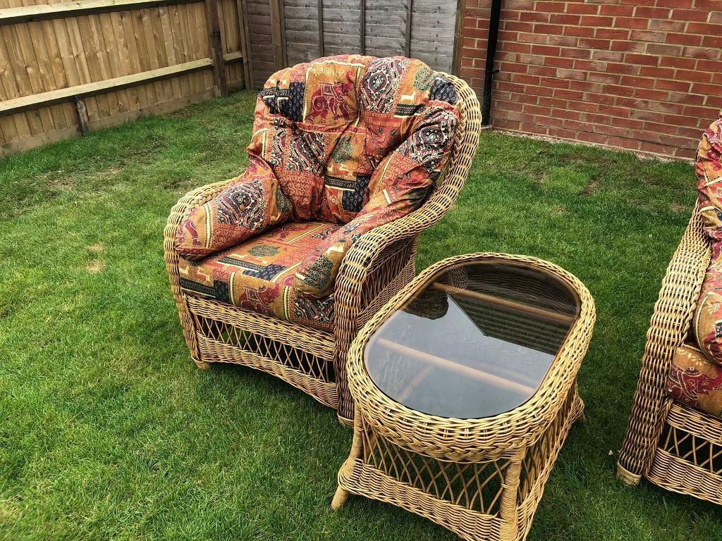 Haddon House Wicker Conservatory/garden Furniture | In Chichester, West  Sussex | Gumtree