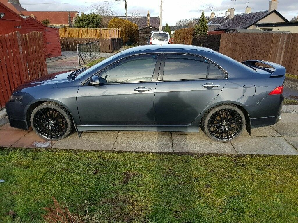 Honda Accord Type S 2.4 Part Service History Modified