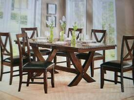 Dining Table X 6 Chairs + Delivery