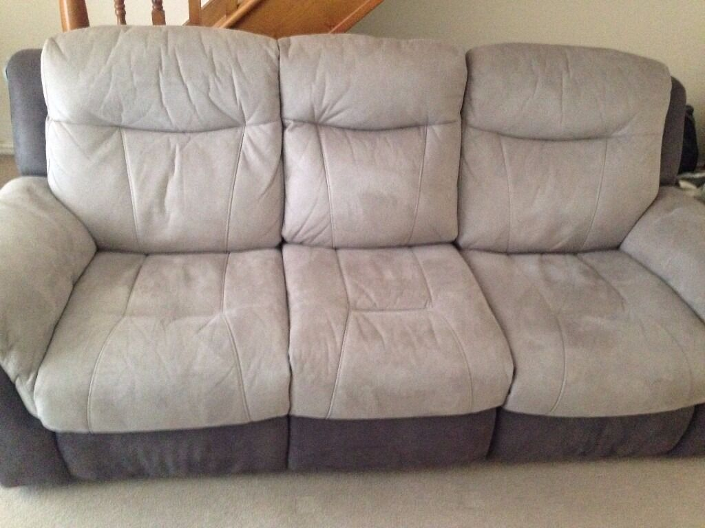 DFS Logan 3 Seater Recliner Sofa