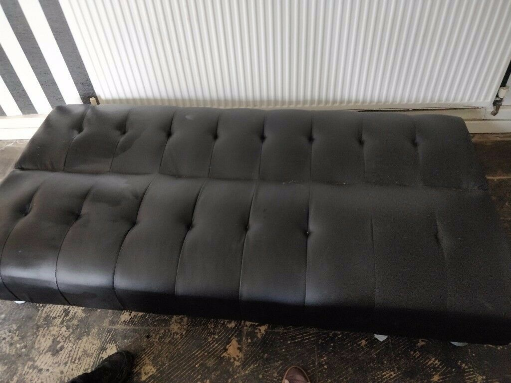Captivating Two Leather Futon Sofa Beds Cheep