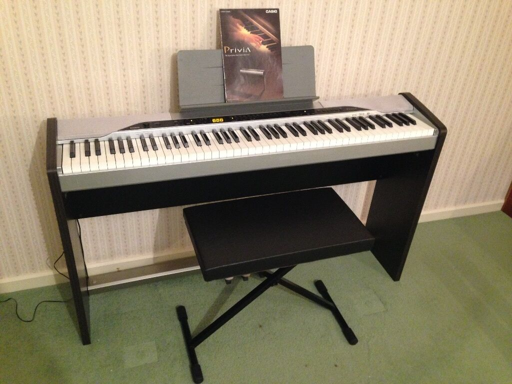 Casio Digital Piano Privia PX-310 + stand piano stool carry case : casio piano stool - islam-shia.org
