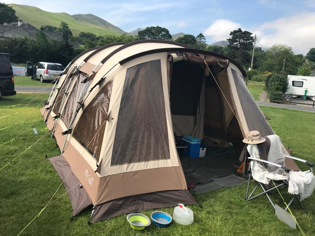 Outwell Kensington 6 Polycotton tent with carpet. Gl&ing at its best! & Outwell Kensington 6 Polycotton tent with carpet. Glamping at its best ...