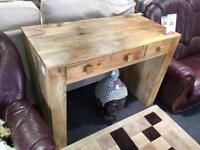 BHF   Solid Oak Console Table From Oak Furniture Land