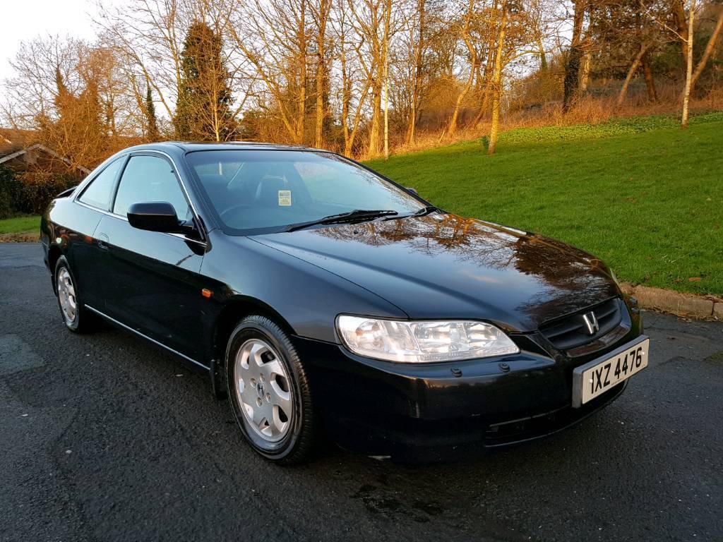1999 Honda Accord Coupe Full Mot Leather Interior