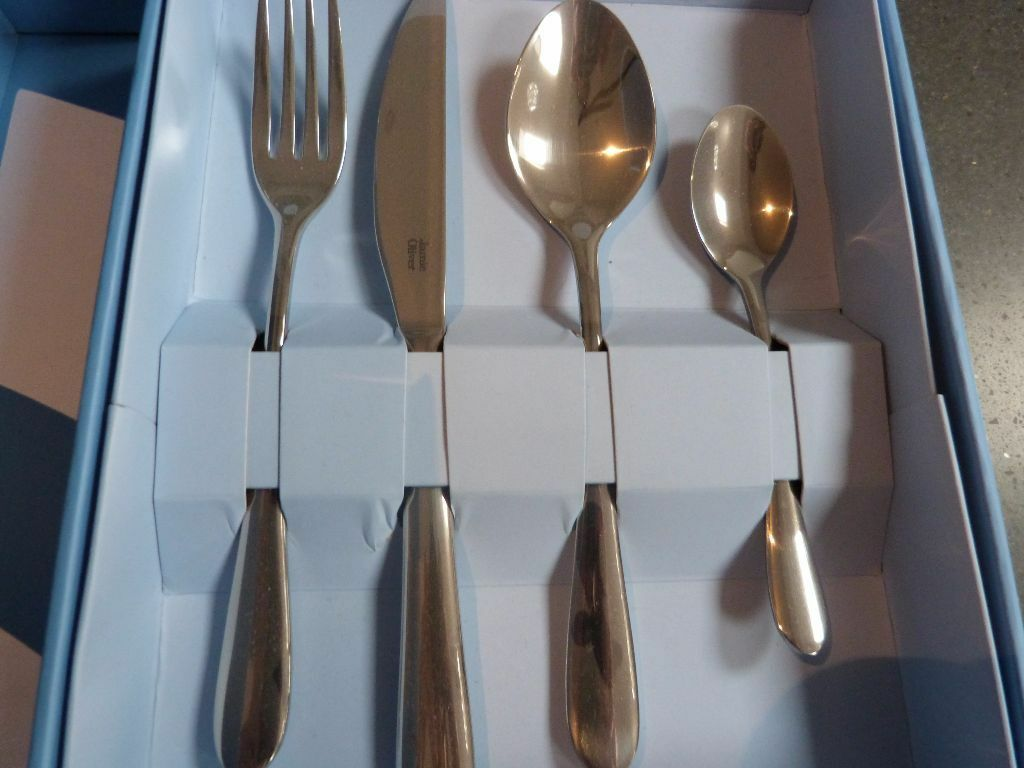 Jamie Oliver Everyday 32 Piece Cutlery Set - New & Jamie Oliver Everyday 32 Piece Cutlery Set - New | in Bournville ...