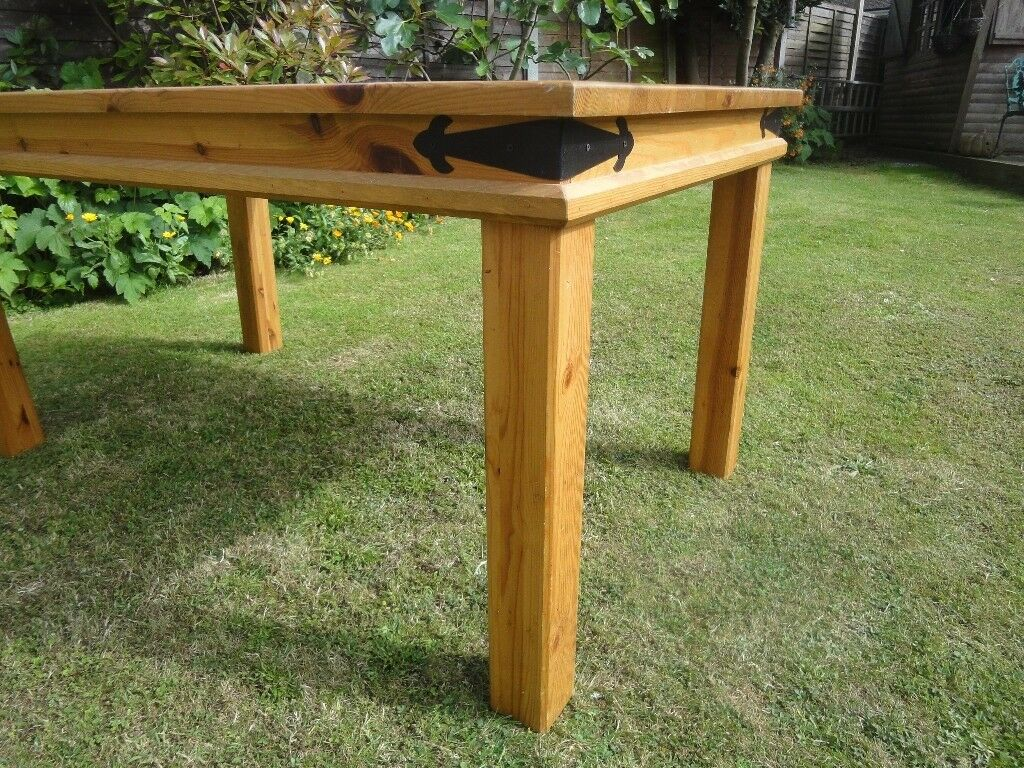 About 14 Years Old. Chunky Pine Dining Room Table. Good Condition. A Few  Minor Scratches. | In Shoeburyness, Essex | Gumtree