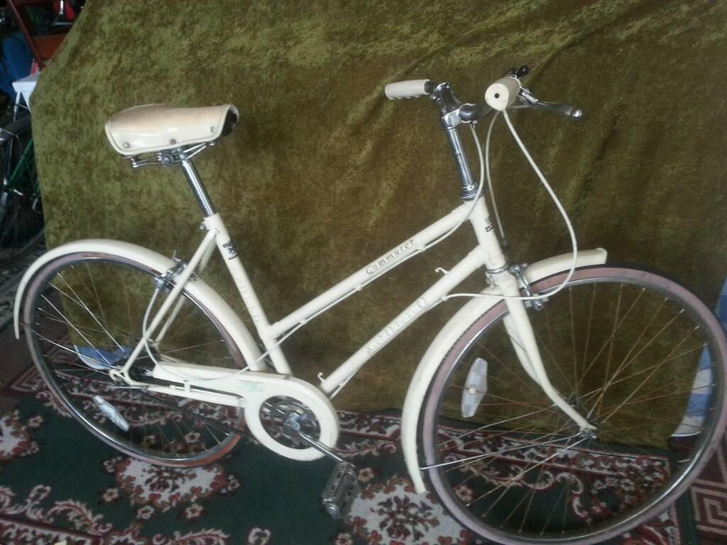 very stylish vintage ladies bike apollo commuter 300