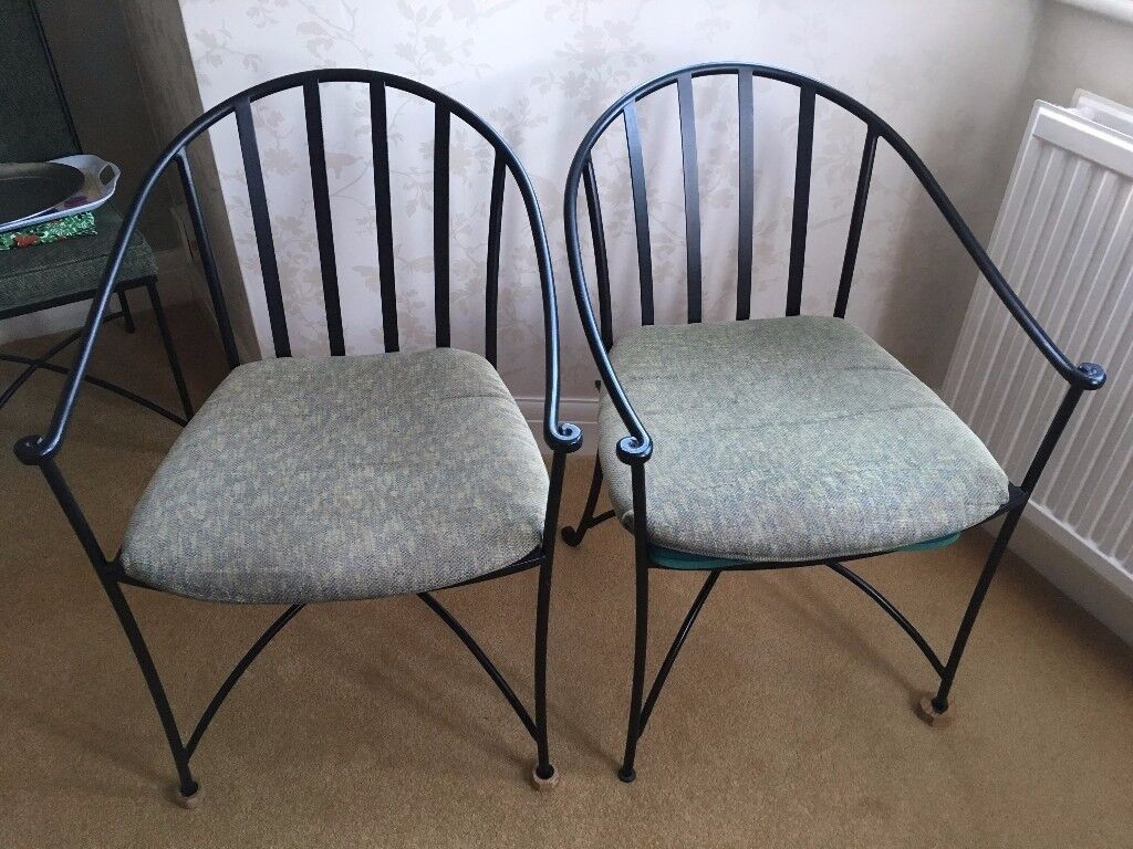 Wrought Iron Kitchen Chairs & Wrought Iron Kitchen Chairs | in Amersham Buckinghamshire | Gumtree