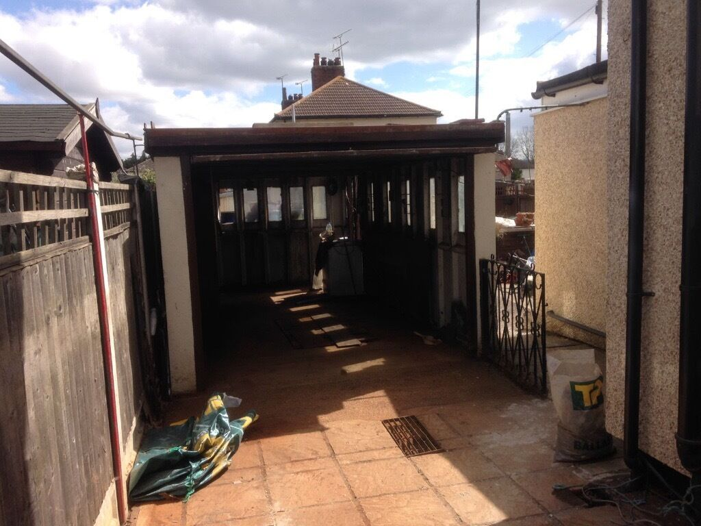 Concrete Garage/shed 6m X 3m (Bison)