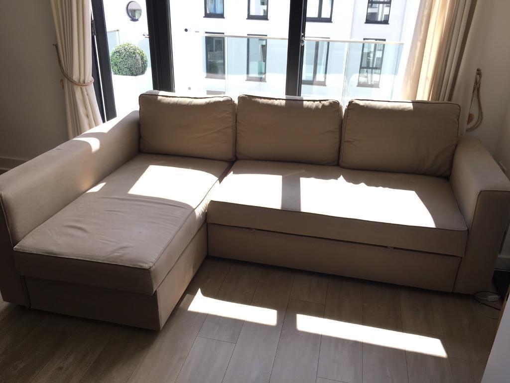 Ikea MANSTAD Corner Sofa Bed