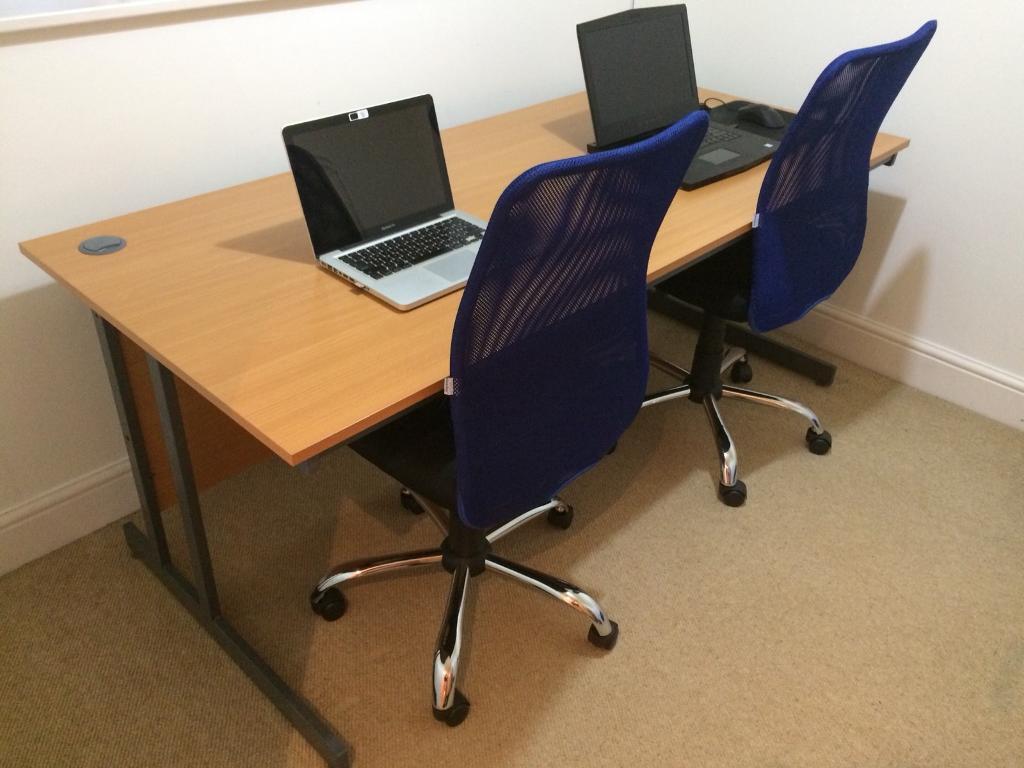 Wide Office Desk